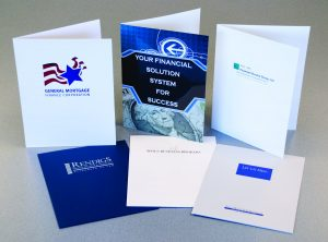 Pocket folders financial